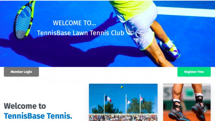 TennisBase- your new Club/Coach Website