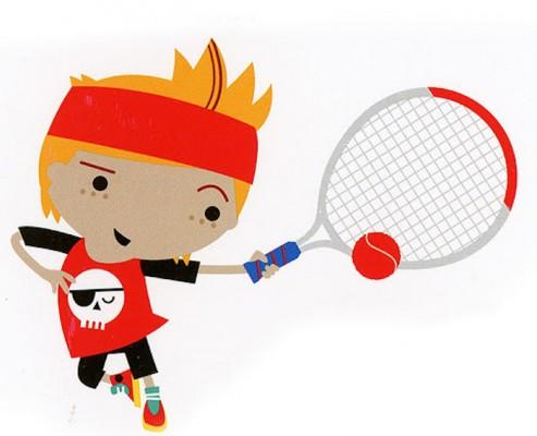 Red Mini Tennis Term
