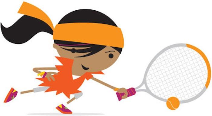 Orange Mini Tennis Term