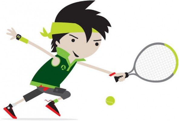 Green Mini Tennis Term